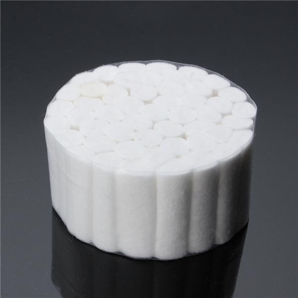 250pcs Dental Disposable Cotton Rolls White for Dental Treatment