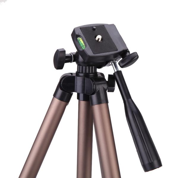 WT3130 Protable Tripod for Canon Nikon Sony DSLR Camera DV Camcorder