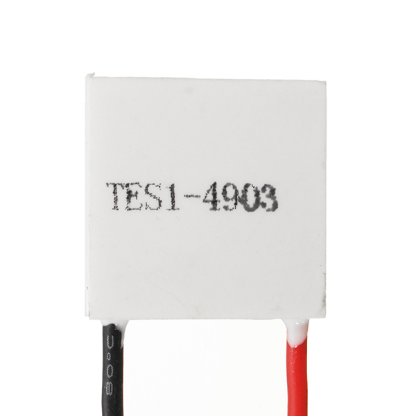 TES1-4903 20x20x3.6mm 5V 3A Thermoelectric Cooler Semiconductor Refrigeration Film Heatsink Peltier Plate Module