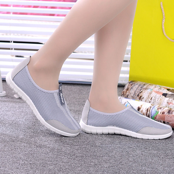 Women Outdooors Sport Mesh Shoes Light Weight Breathable Walking Running Shoes