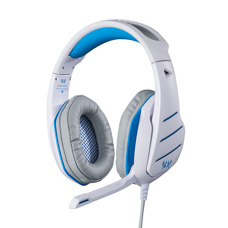 KOTION EACH GS800 Pro Gaming Stereo Headset Headphone with Microphone LED Light Volume Control