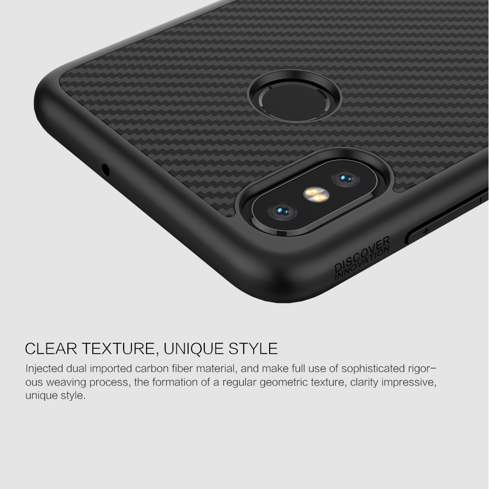 NILLKIN Ultra Thin Shockproof With Iron Plate Protective Case For Xiaomi Mi8 Mi 8
