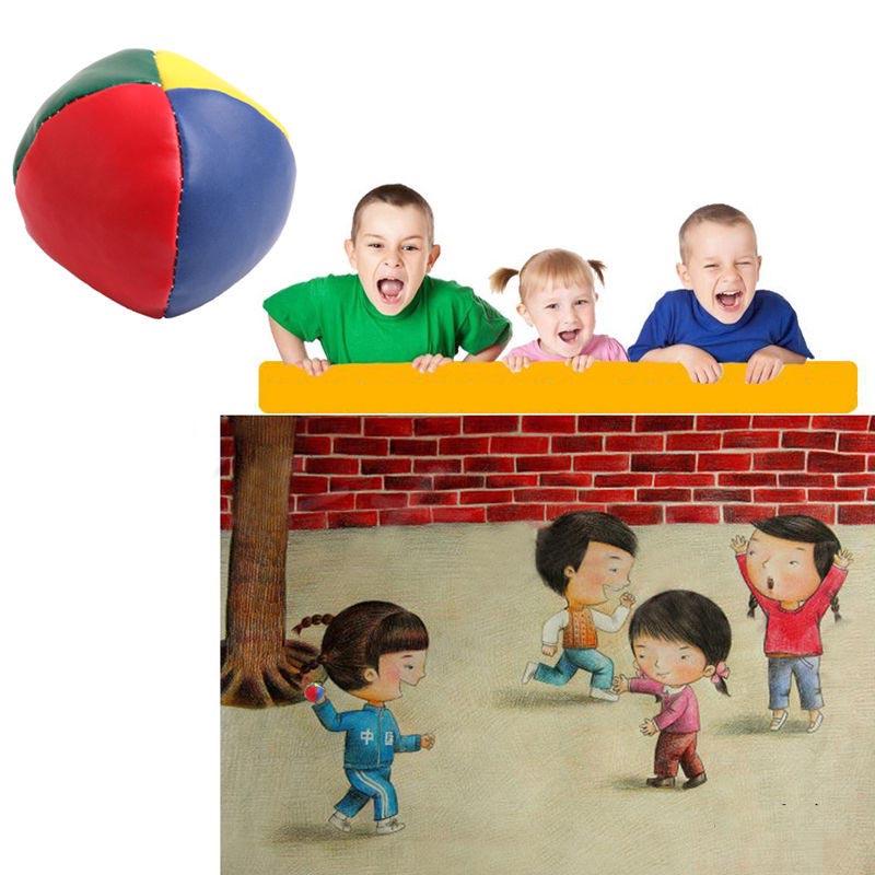 Set of 3 Juggling Balls Outdoor Sports Beanball Children Kids Toy Balls Classic Bean Bag Juggle Ball