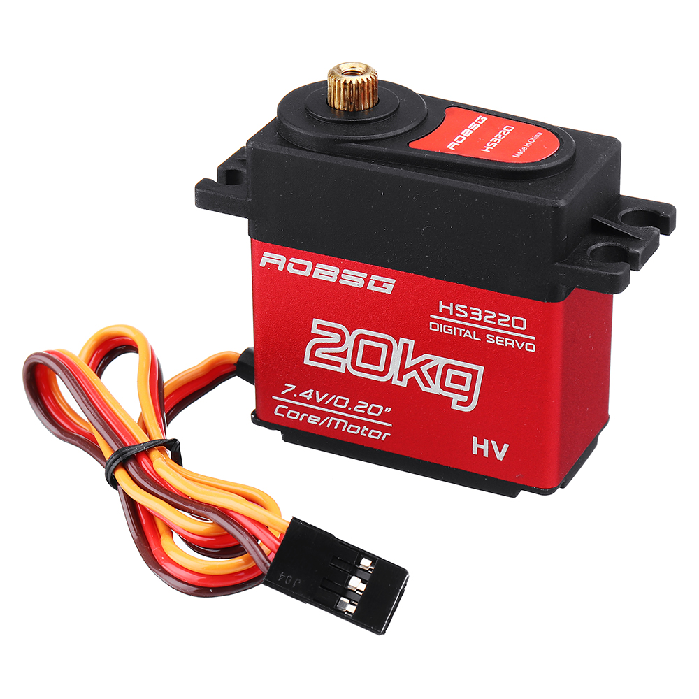 ROBSG HS3220 20KG Coreless Waterproof Metal Gear Digtial Servo For RC Models - Photo: 8
