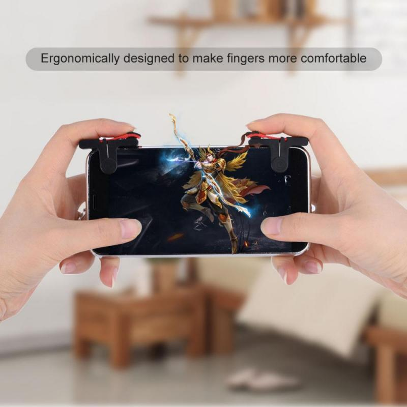 Bakeey D9 Game Controller Fire Button Gaming Trigger Assist Tools Controller Gamepad For Phone