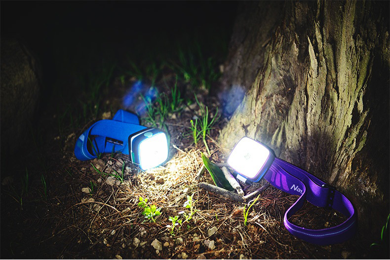 Naturehike Outdoor Bicycle LED Headlights Tent Lamp Rechargeable Lithium Battery Camping Lamp