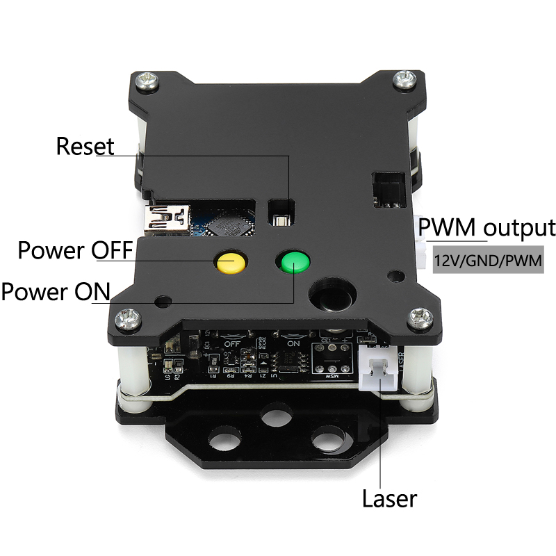 2-Axis USB Stepper Motor Driver DIY Controller Board for CNC Milling Laser Engraver Machine Parts