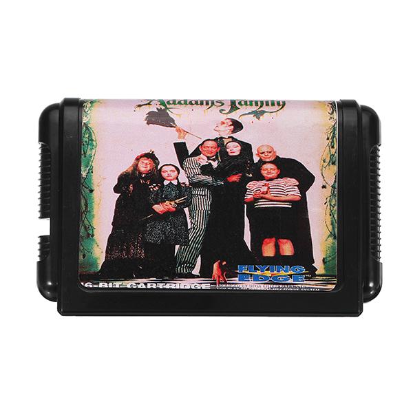 16bit Adamu Family Cartridge for Sega Mega Drive Game Console