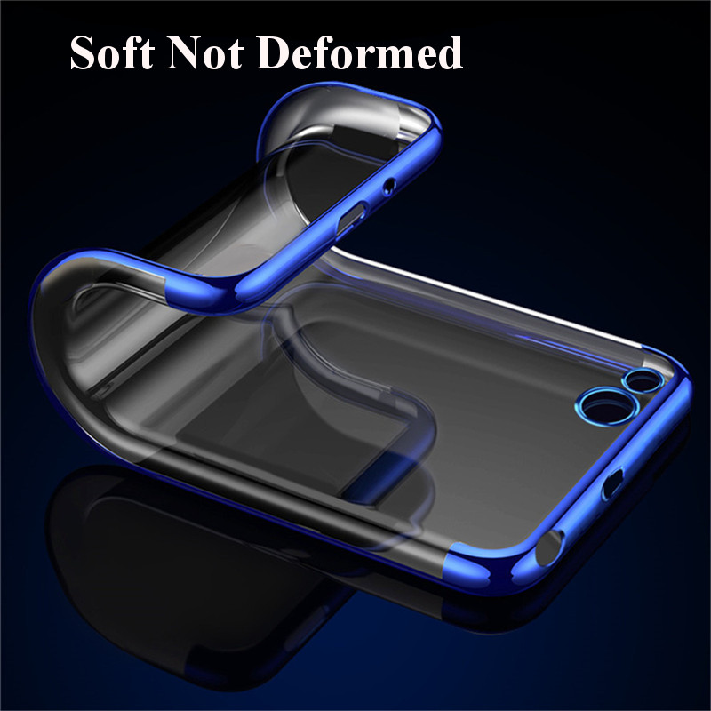 Bakeey Luxury Ultra-Thin Plating Soft TPU Protective Back Protective Case For Xiaomi Redmi 5A