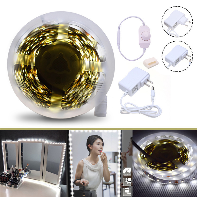 4M SMD2835 Dimmable Non-waterproof White Vanity Mirror