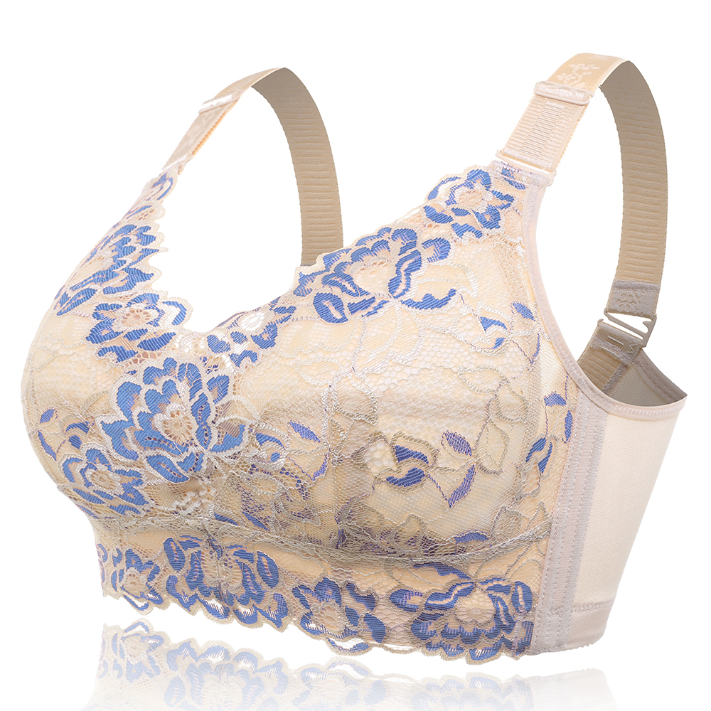 B-J Cup Gather Adjustable Wireless Soft Bra