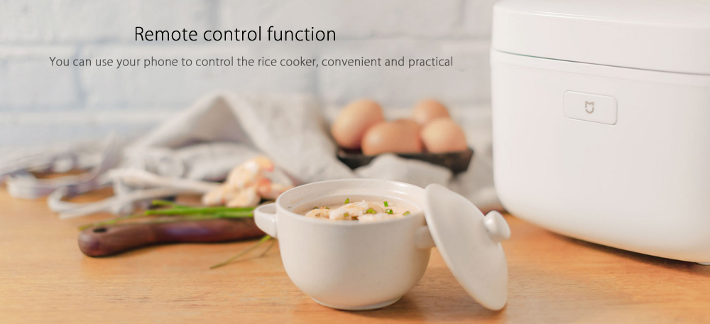 XIAOMI Mijia IH-FB01CM 3L Smart Electric Rice Cooker Alloy Cast Iron IH Heating Cooker for Kitchen with APP WiFi Control