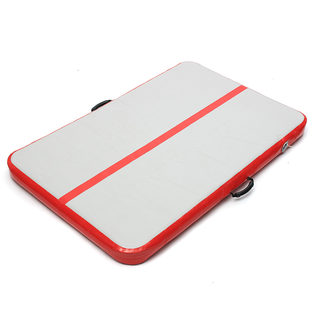 39.4x118x4inch Red Color Airtrack Gymnastics Mat Floor Inflatable GYM Air Track Mat Home Tumbling Rolling Mat With Pump