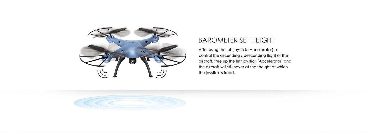 Syma X5HW WIFI FPV With HD Camera Altitude Mode 2.4G 4CH 6Axis RC Drone Quadcopter RTF