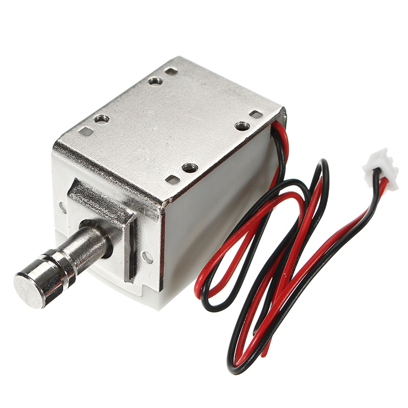 24V DC 1A Mini Electric Bolt Lock Cylindrical Sauna Cabinet Drawer Solenoid Lock