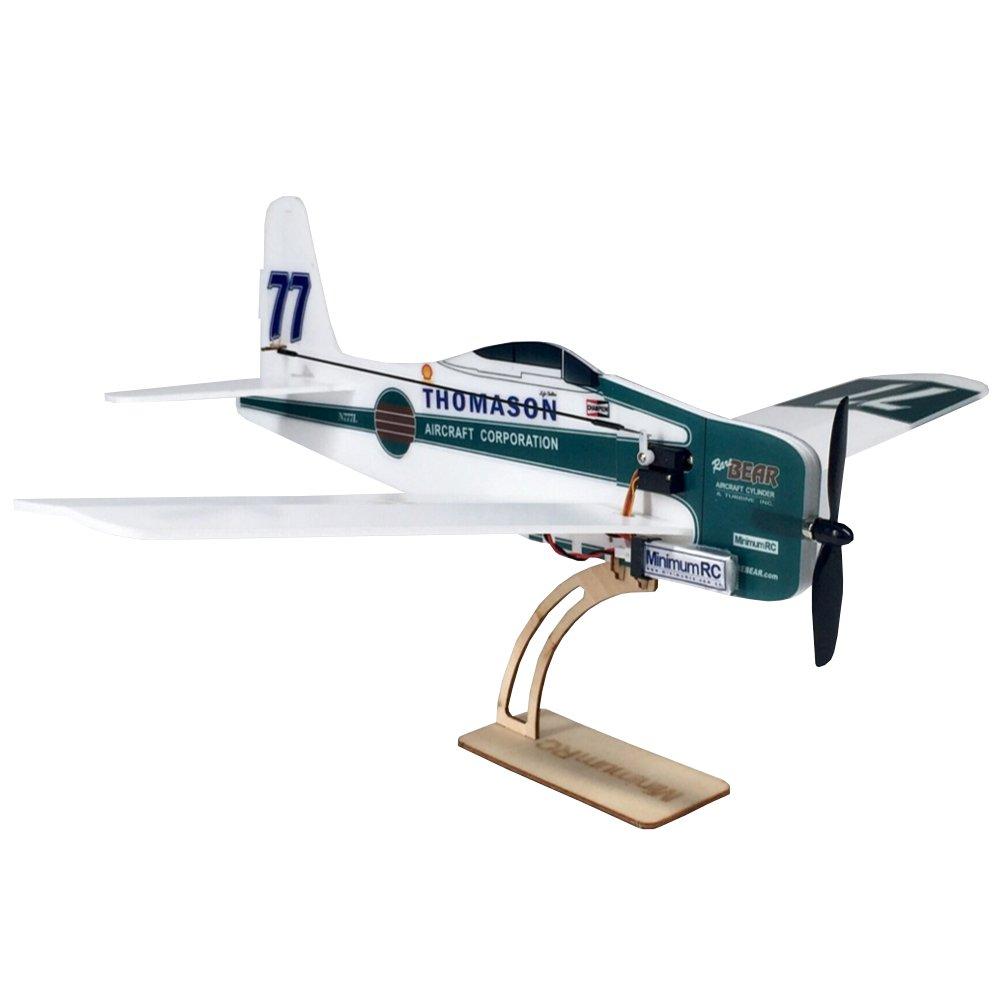 MinimumRC F8F Rare Bear 360mm Wingspan KT Board Mini RC Airplane KIT With 720 Coreless Motor
