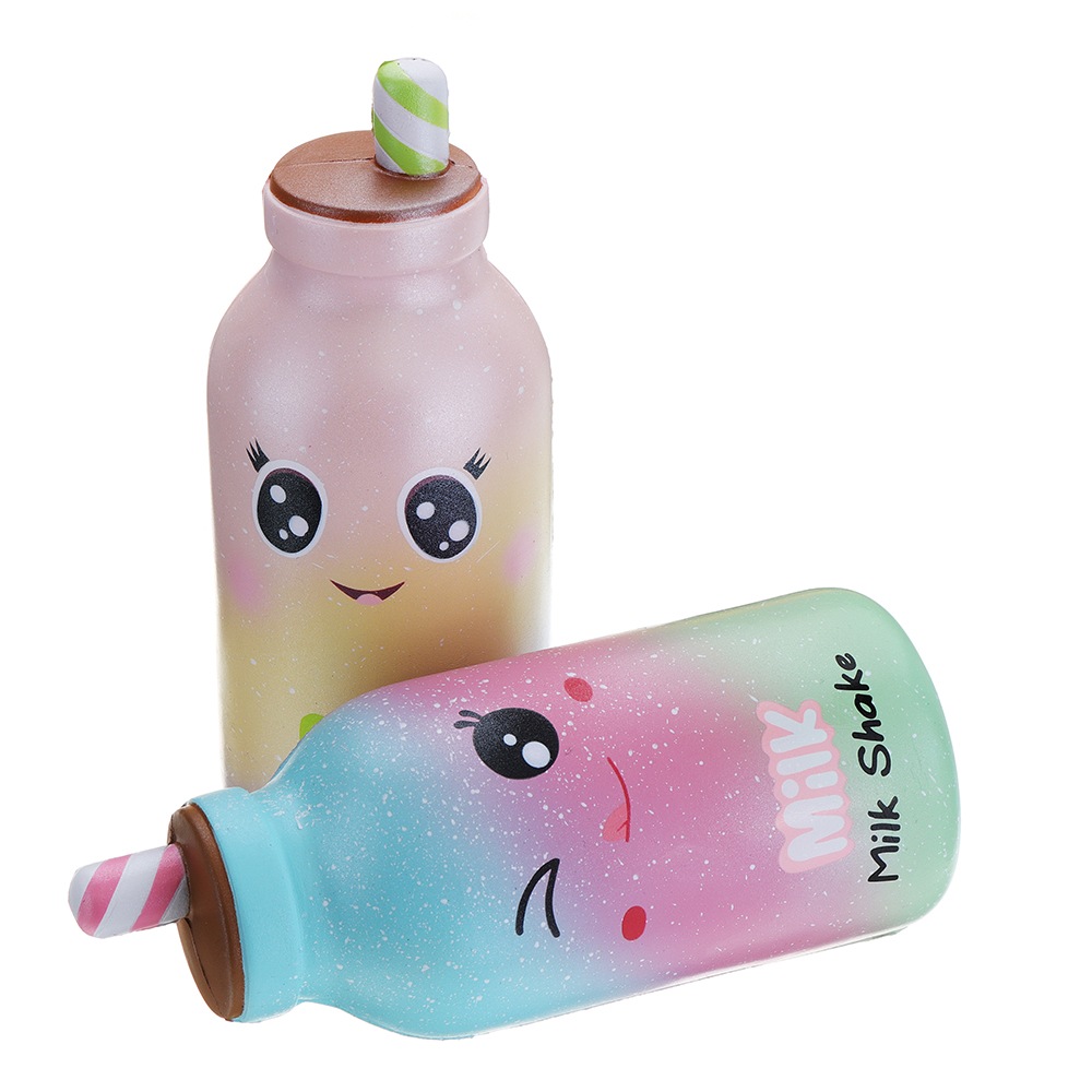 Kiibru Milk Shake Squishy 16*7*6.5CM Licensed Slow Rising Soft Giant Toy With Packaging