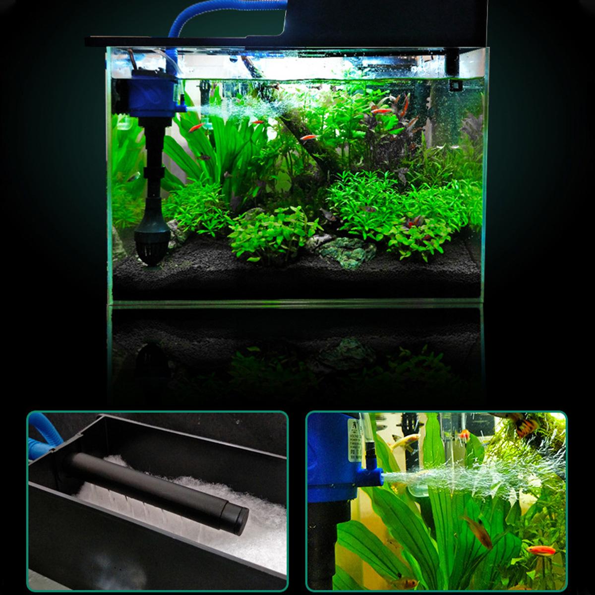 3 in 1 Aquarium Submersible Water Pump Filter Submersible Water Pump