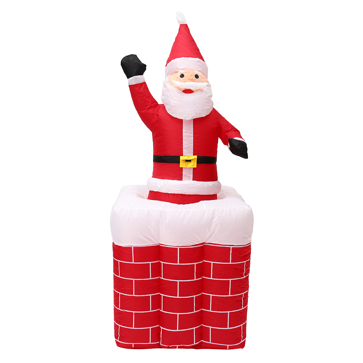 1 6m Telescoping Santa Inflatable Christmas Light Pop Up