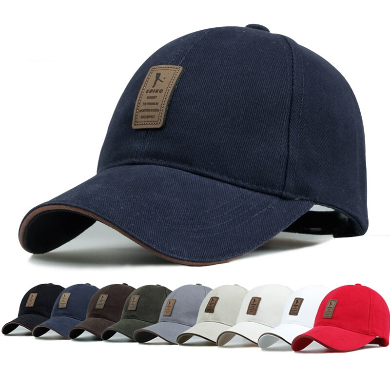 Unisex Men Women Cotton Blend Baseball Cap Hip-hop Adjustable Snapback Golf Outdooors Hat