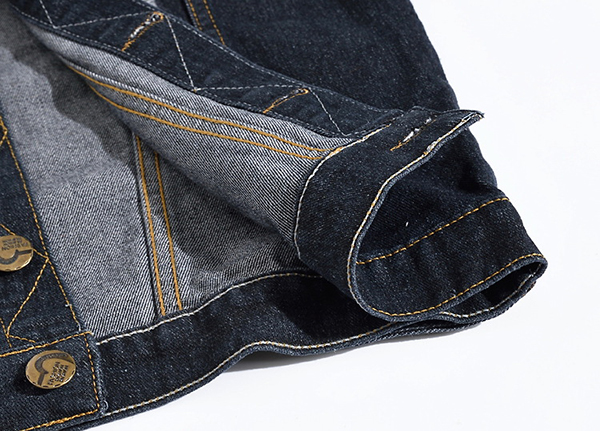 Plus Size Casual Fashion Denim Holes Ripped Washed Stone Pockets Vest for Men
