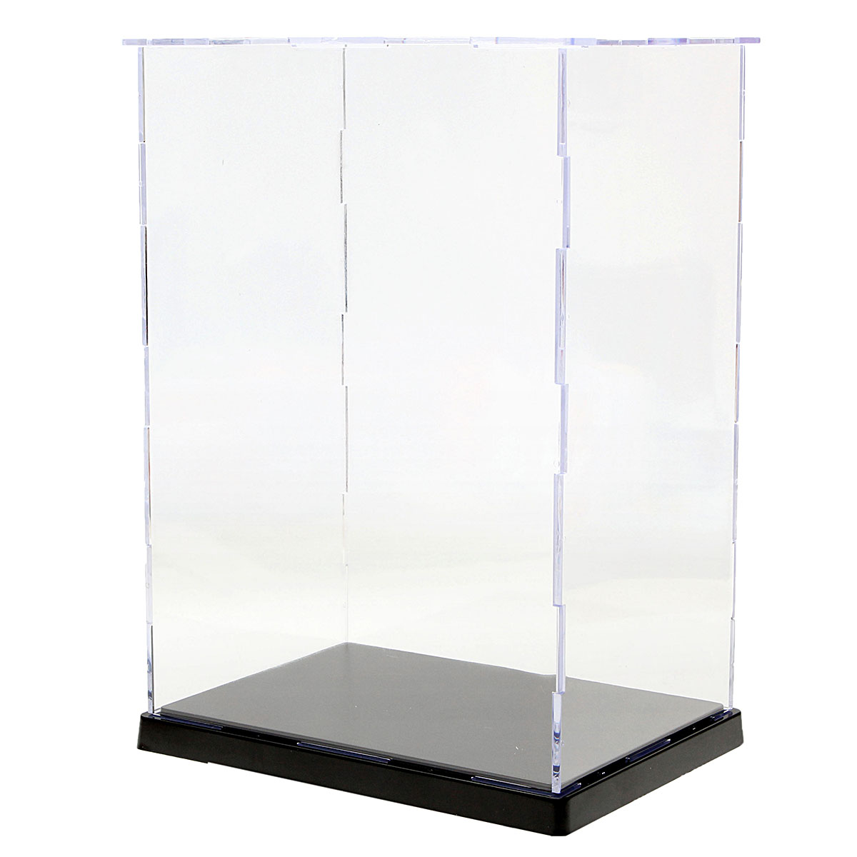 19x14x26.5cm Clear Acrylic Display Show Case Box Plastic Dustproof Protection Tray
