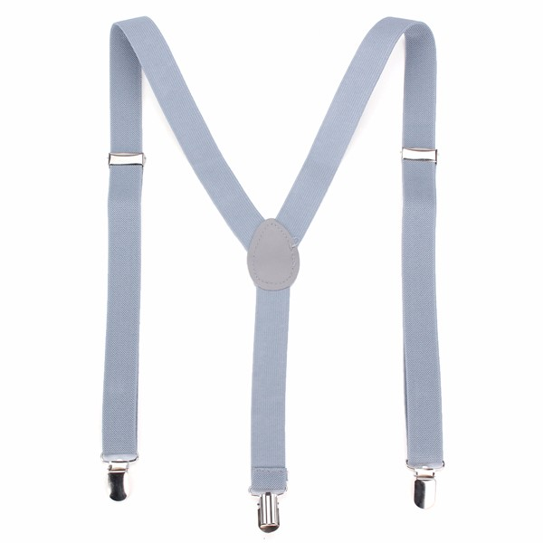 Unisex Clip-on Suspenders Elastic Y-Shape Adjustable Braces