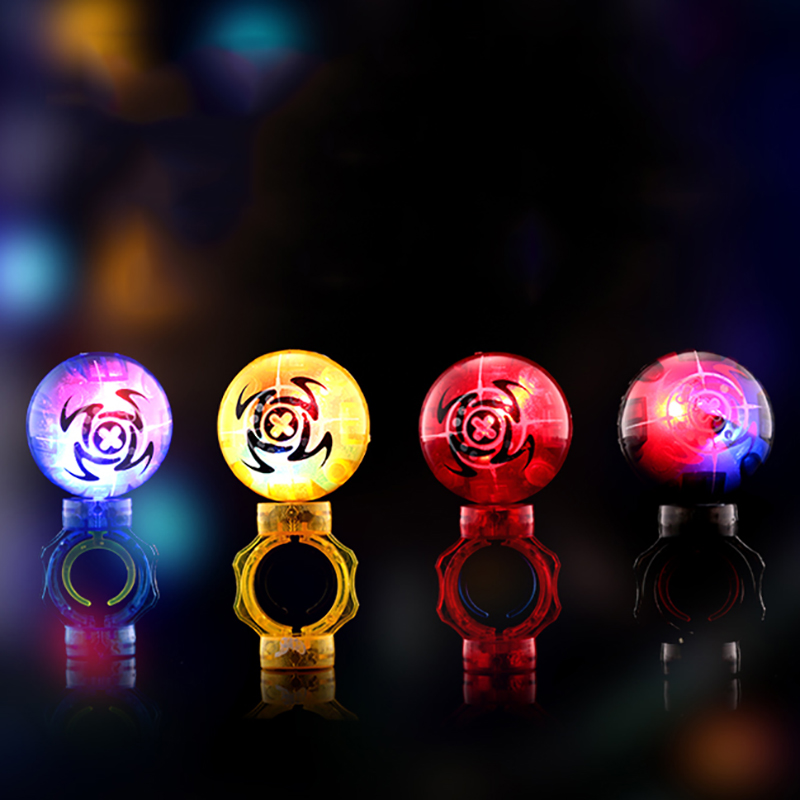 Christmas Finger Magic Magnetic Induction Ball Dazzling Light Toys Kids Children Reduce Stress Gift
