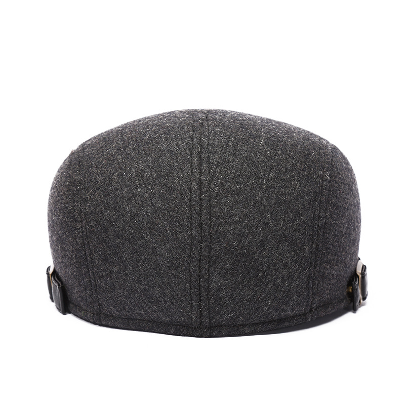 Mens Womens Winter Warm Woolen Beret Caps