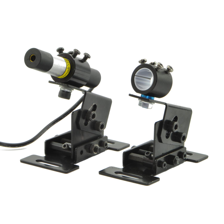 MTO HT Horizontal Positioning Shockproof Bracket Holder Mount for 13.5mm-23.5mm Laser Module Pointer