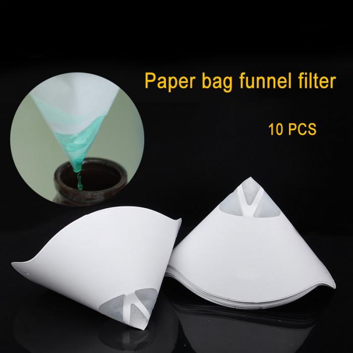 10pcs/lot Disposable Thicken Paper Filter Funnel Resin Filament Filters For ANYCUBIC Photon SLA UV 3D Printer