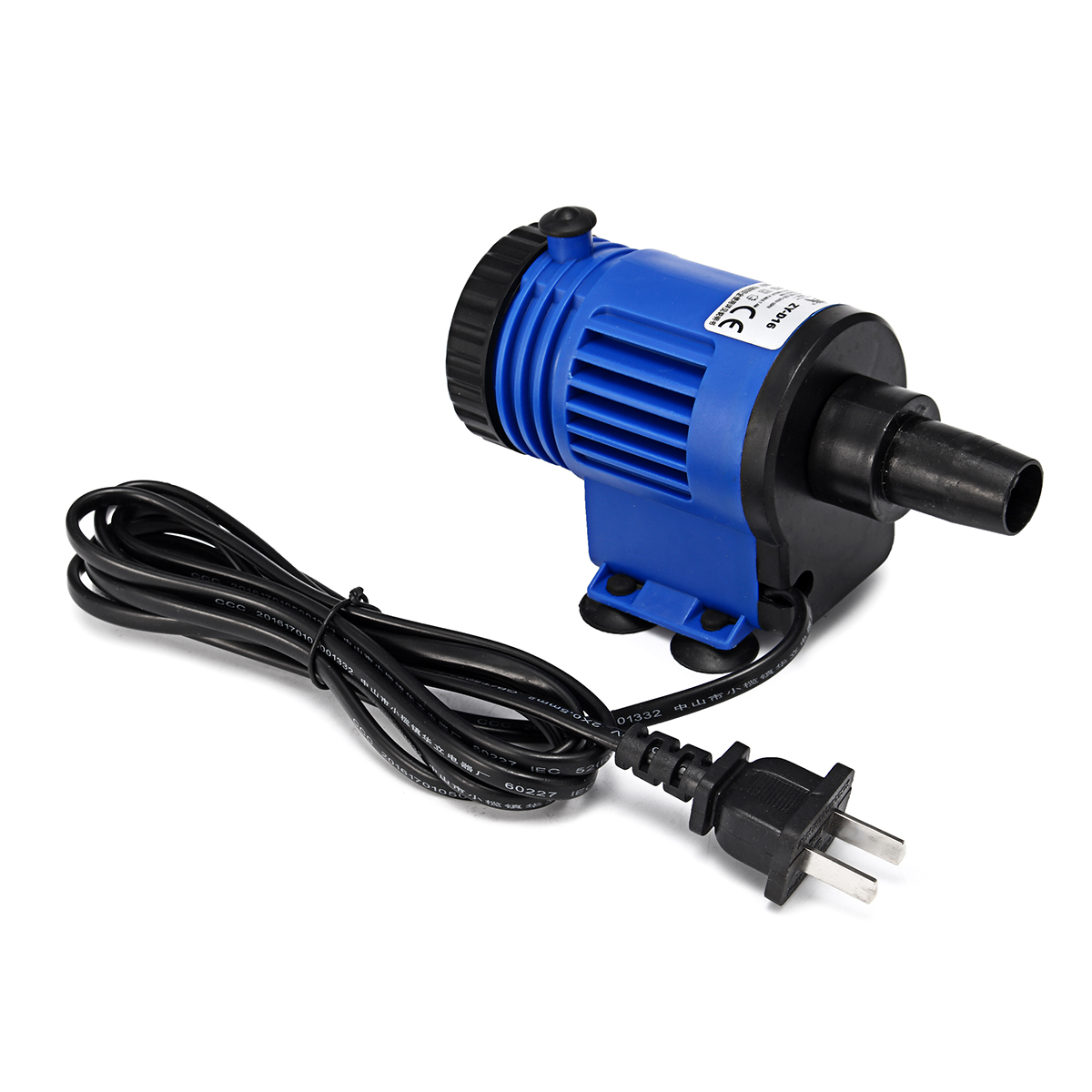 16W Electric Aquarium Vacuum Gravel Cleaner Fish Tank Water Pump