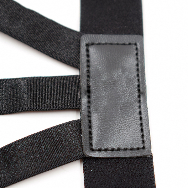 Men Shirt Stays Holder Leg Suspenders Good Elastic Uniform Garter