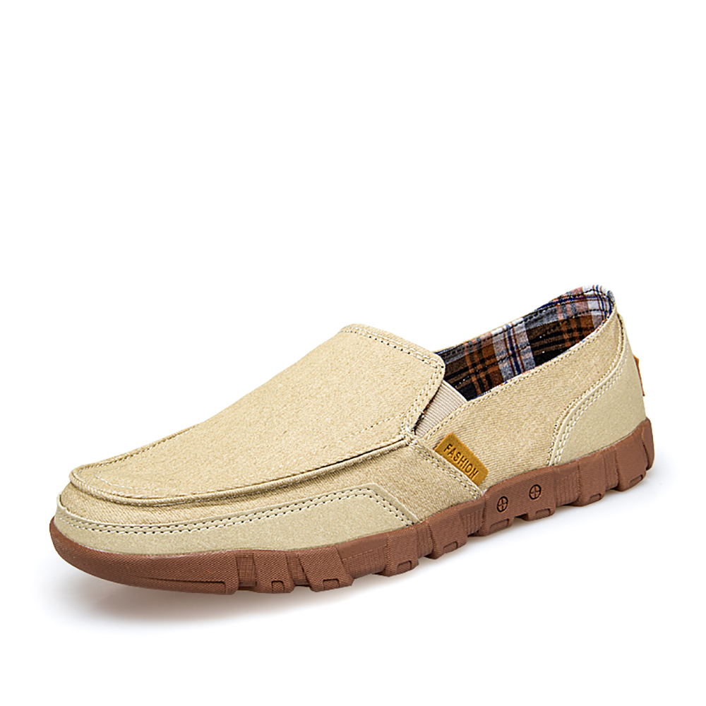 Lightweight Canvas Casual Soft Sole Walking Loafers
