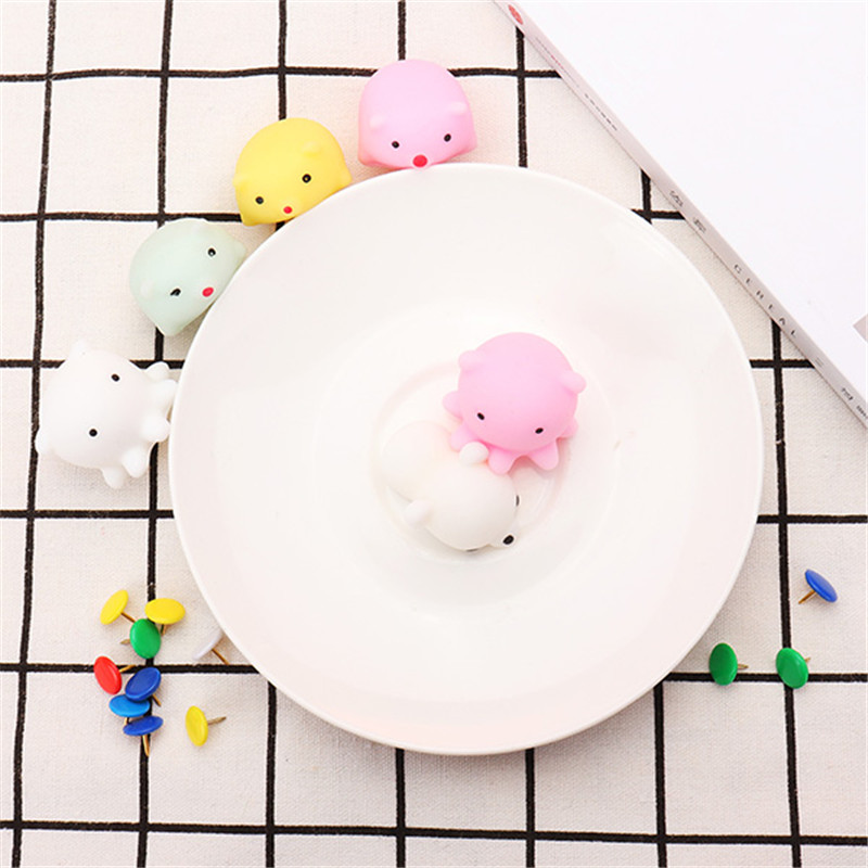 Octopus Squishy Squeeze Cute Mochi Healing Toy Kawaii Collection Stress Reliever Gift Decor