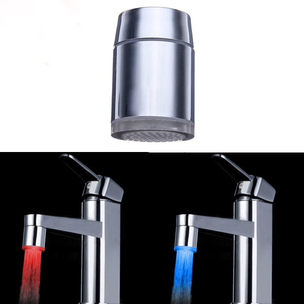 10X 7 Color Changing LED Faucet Color Changing Water Ta