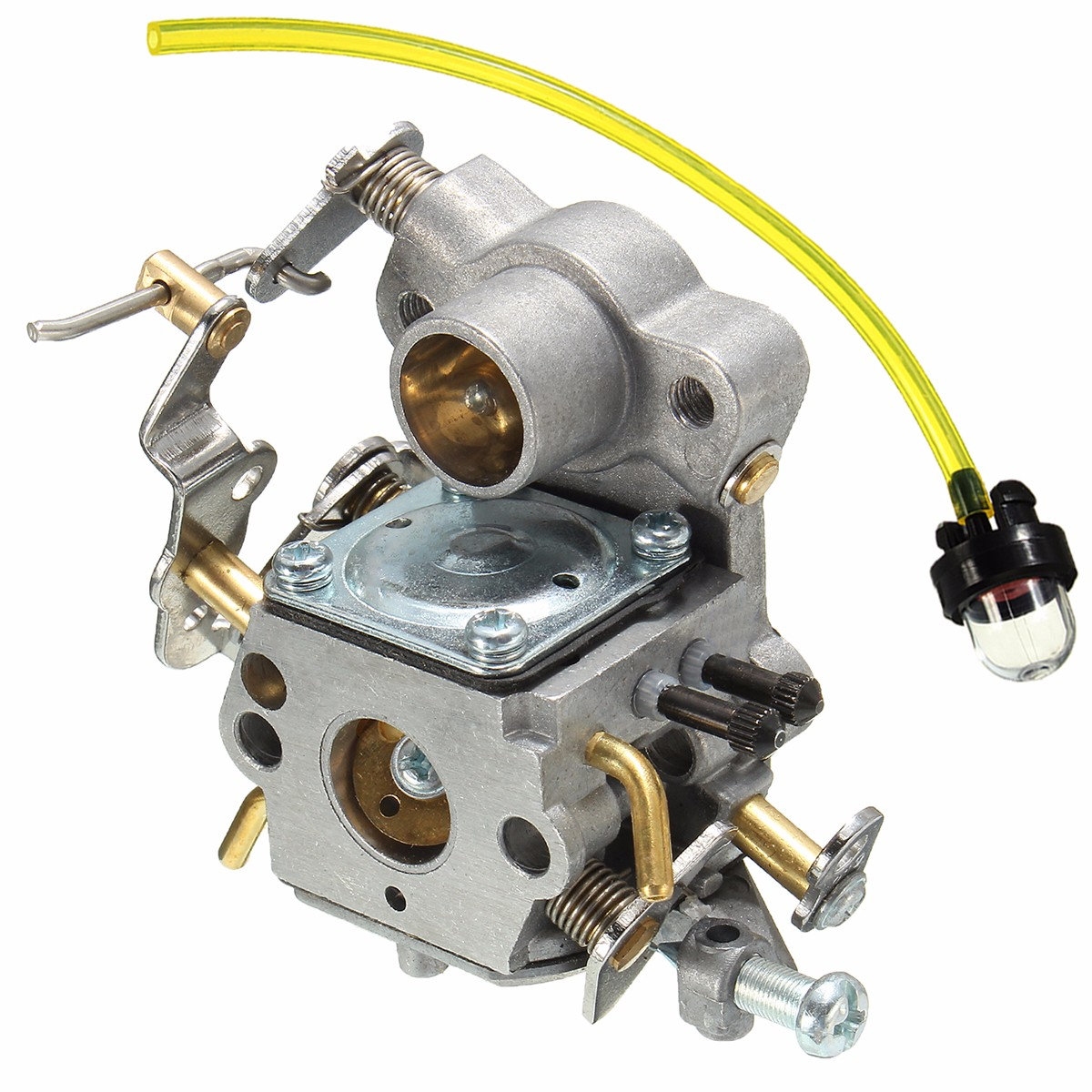 Carburetor Replacement With Primer Bulb For Poulan Craftsman Zama C1M-W26C 53003