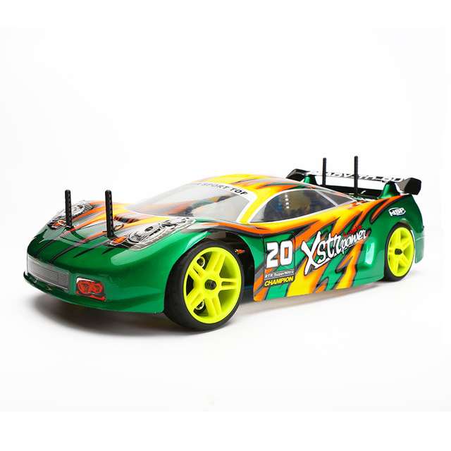HSP 94122 1/10 2.4G 4WD Rc Car 18cxp Nitro Powered On Road Touring Car-Pivot Ball Suspension Model