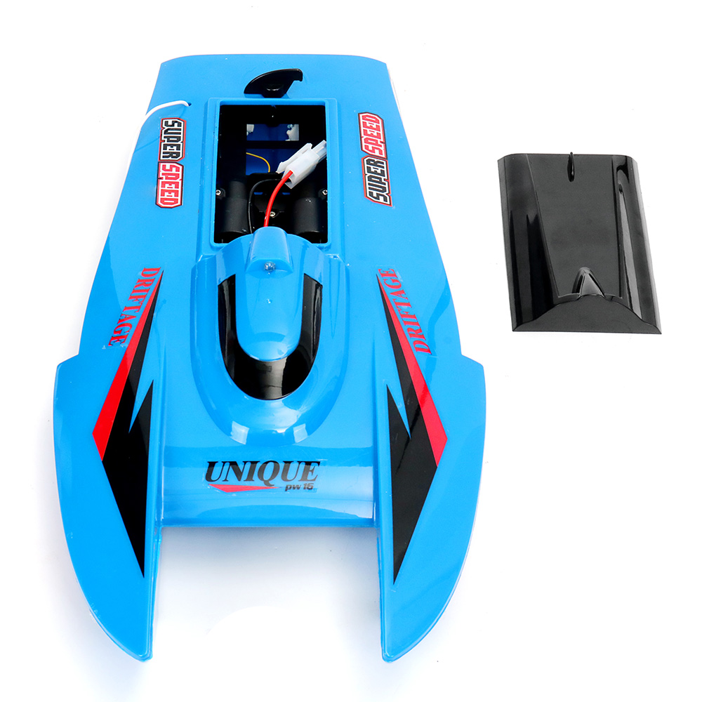 CT3352 39.5CM 27 40MHZ 3CH Rc Boat Blue Red Super Speed Toy With Water Removal Function