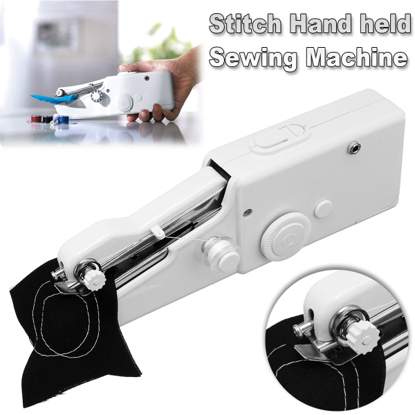 Drillpro DC 6V Portable Electric Hand held Sewing Machine Quick Handy Cordless Seal Ring Machines