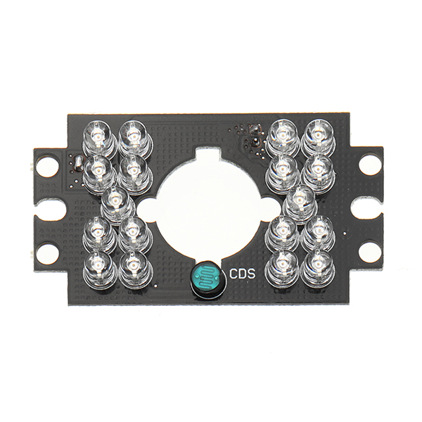 Security Camera 18 LED 5mm 850nm IR Infrared Illuminator Board Plate for Auto Car