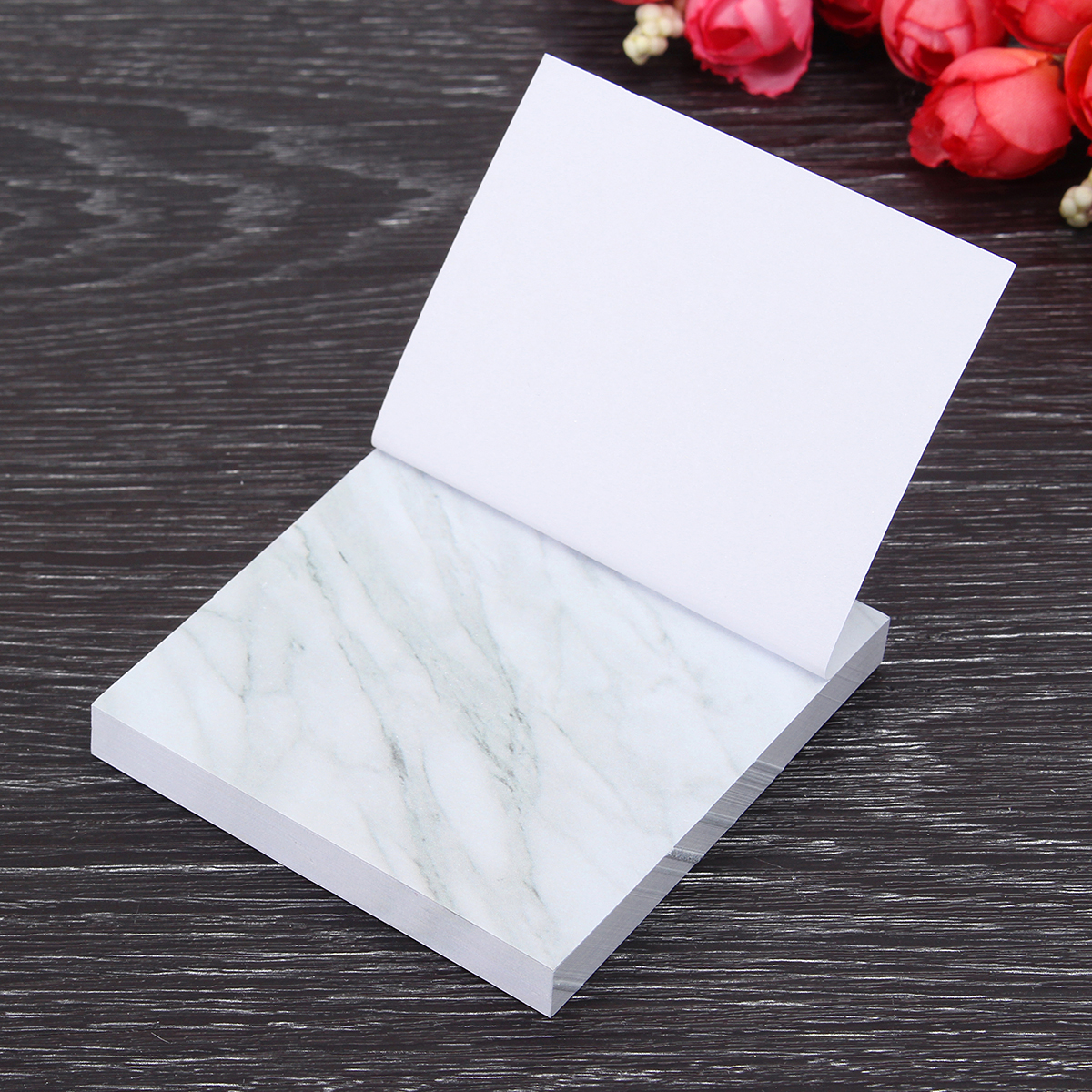 Stone Memo Pad Post It School Scrapbooking Sticky Notes Cute Planner Stationery Office Supplies