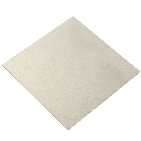 High Purity Nickel-pate Nickel Foil Thin Sheet Plate 1mm x 100mm x 100mm