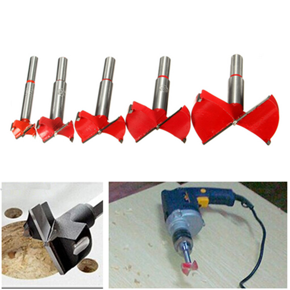 Alloy Forstner Drill Bit Wood Working Hole Saw from 15-65MM