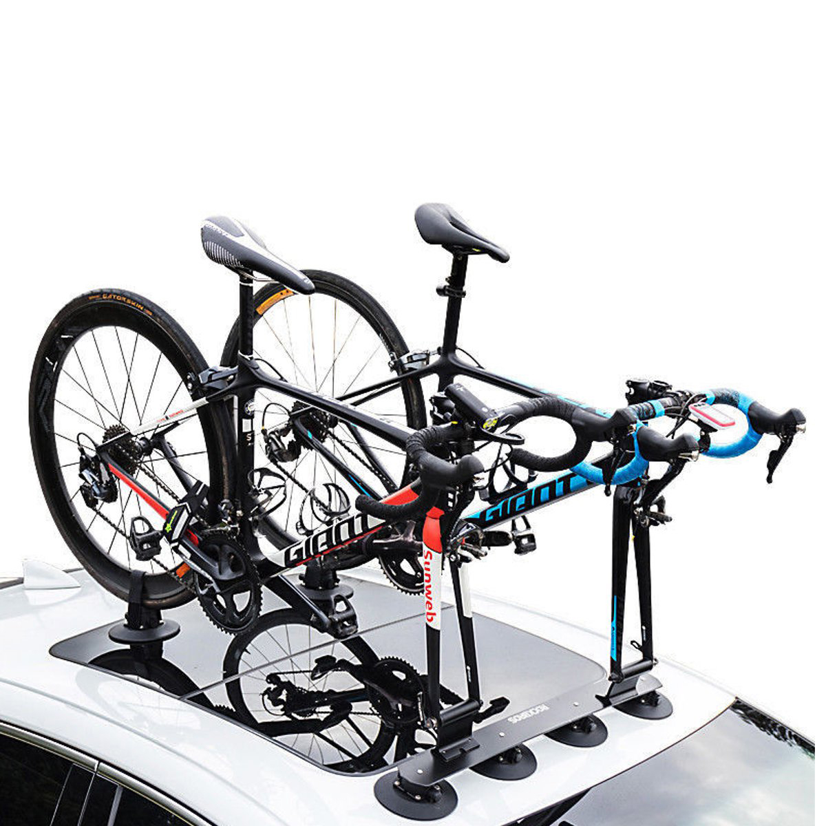 RockBros Bike Bicycle Carrier Suction Rooftop Roof Rack Quick Installation Roof Rack