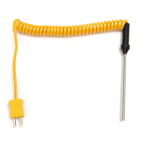 K-Type Thermocouple Stainless Steel Probe Temperature Controller Wire Sensors 100/300/500mm Optional
