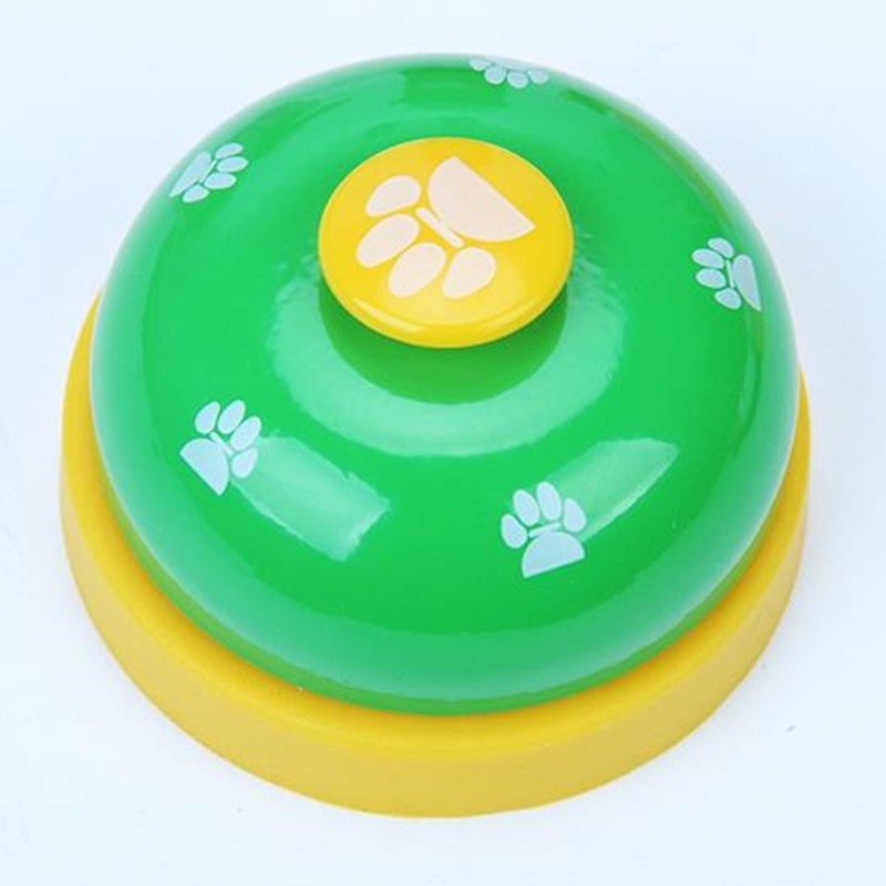 Pet Training Bell Pet Call Bell Dog Cat Feeding Ringer Educational Toy IQ Training Pet Toys