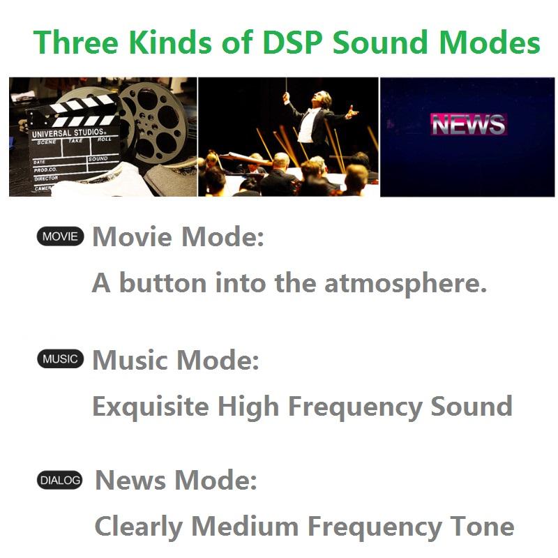 LP-09 PLUS 40W Bluetooth Audio Speaker Echo TV Speaker Loud Sound Wall Mountable