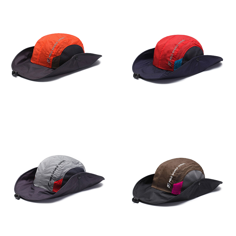 Mens Foldable Breathable Bucket Hat