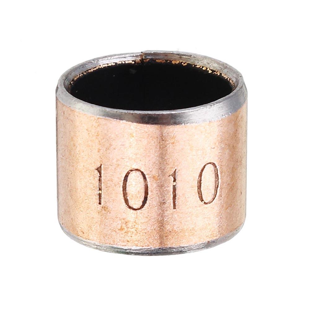 Machifit 10pcs 10x12x10mm Ball Bearing Bushing Copper Alloy Bearing Bushing